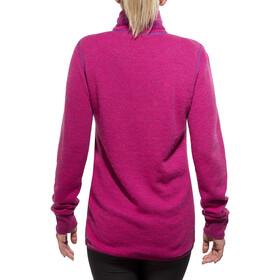 Woolpower Unisex 400 Full Zip Jacket Colour Collection cerise/purple